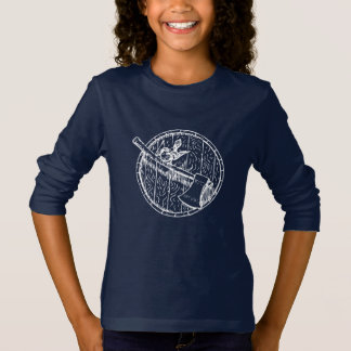 Bird Barrel And Axe Long Sleeved Tee