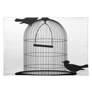bird beautiful pattern fashion style rich looks placemat