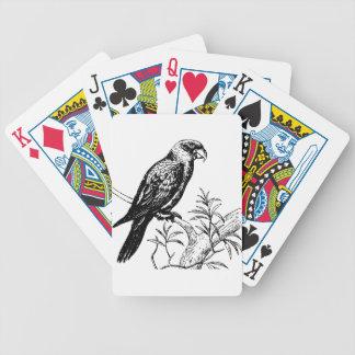 Bird Bicycle Playing Cards