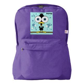 Bird(Black) Backpack, Amethyst Backpack