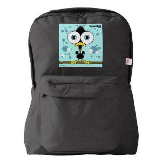 Bird(Black) Backpack, Black Backpack