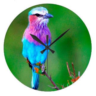 Bird blue_iphone wall clocks