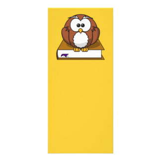 bird, book, bookmark, brown and white, brown book, rack card