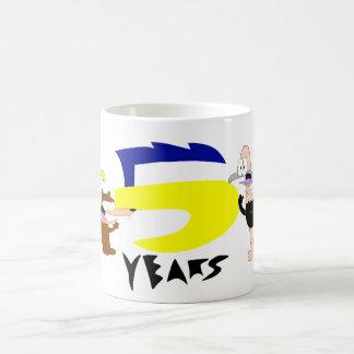 Bird Brains 5th Anniversary Mug