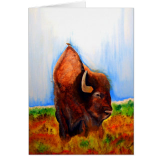 Bird Buffalo Card