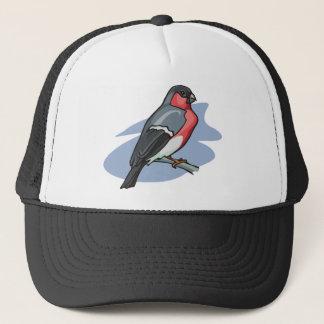 Bird Bullfinch Trucker Hat