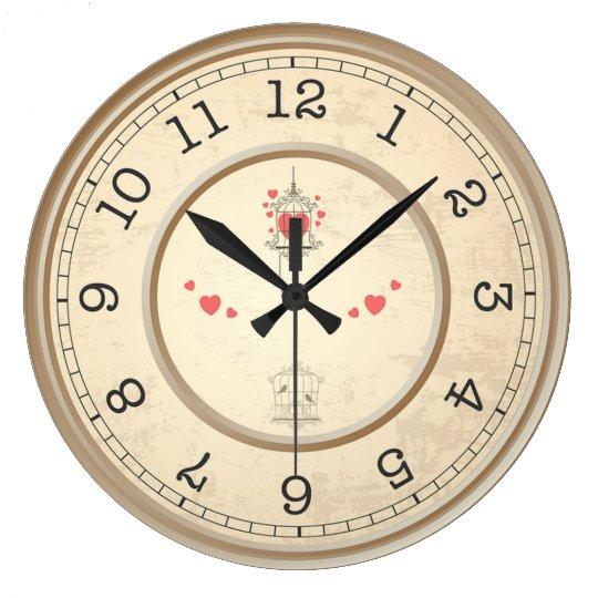 Bird Cage Wall Clocks