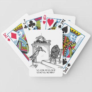 Bird Cartoon 2021 Poker Deck