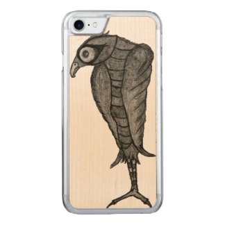 bird carved iPhone 7 case