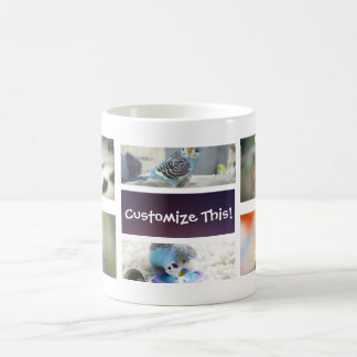 Bird Collage Photo Mug
