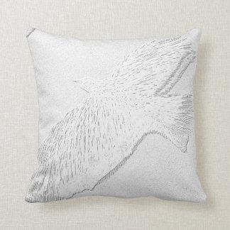 bird cushion 41 x41 cm