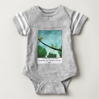 Bird Cut the Cable Baby Bodysuit