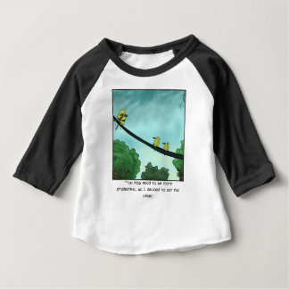 Bird Cut the Cable Baby T-Shirt