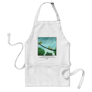 Bird Cut the Cable Standard Apron