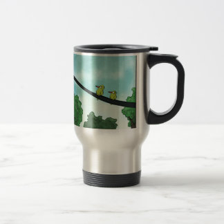 Bird Cut the Cable Travel Mug