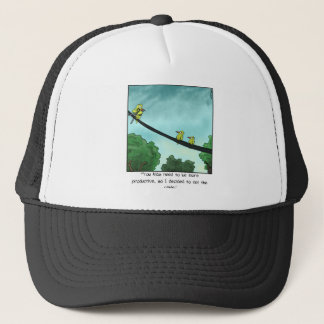 Bird Cut the Cable Trucker Hat