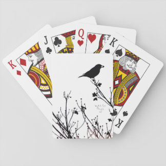 Bird Decorated Playing Cards