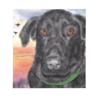 Bird dog notepad