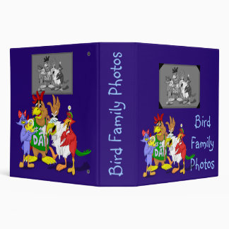 Bird Family Photo Album Vinyl Binders