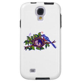Bird Feeding Chicks Galaxy S4 Case