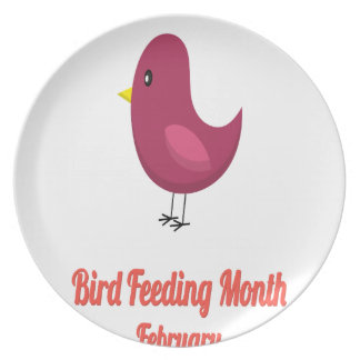 Bird-Feeding Month - Appreciation Day Plate
