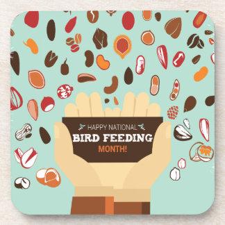 Bird-Feeding Month February - Appreciation Day Coaster
