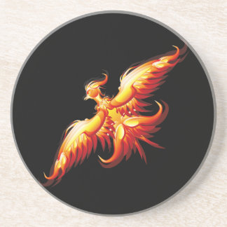 Bird fire Phoenix  3 Coaster