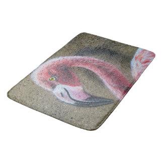 Bird Flamingo Pink Feathers Destiny Destiny's Bath Mat
