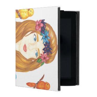 Bird Girl iPad 2/3/4 Case
