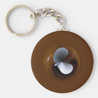 Bird Globe Keychains