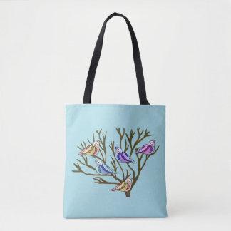 Bird Habitat Tote Bag