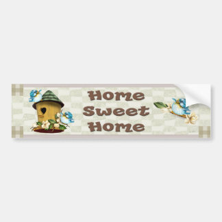 BIRD HOME Bumper Sticker 3