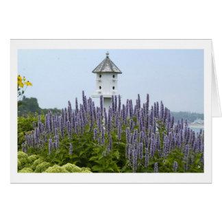 Bird House in Maine Card