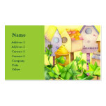 Bird Houses Business Cards