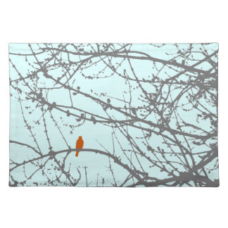 Bird in a Maple Placemat