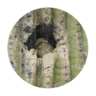 Bird in a Saguaro Nest Cutting Board