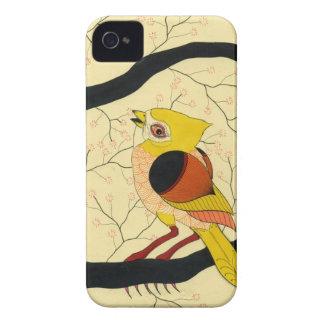 bird in a tree iPhone 4 Case-Mate case