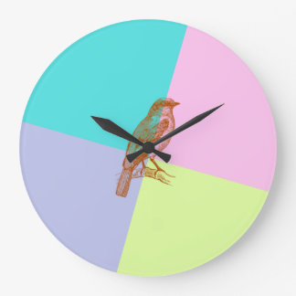 Bird in Color Clock