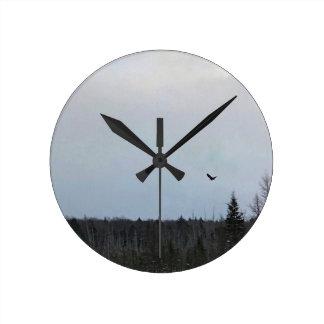Bird in Flight Clock