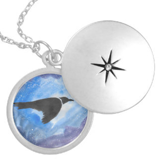 Bird In Flight Locket