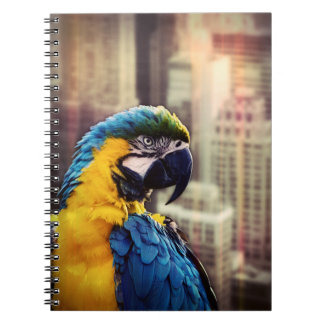 Bird In The City Notebook