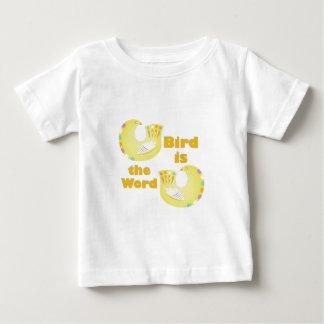 Bird Is Word Baby T-Shirt