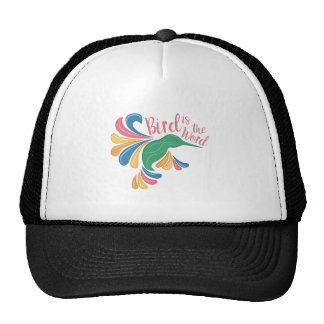 Bird Is Word Trucker Hat