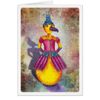 Bird Lady Card