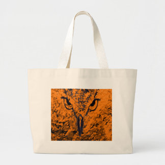 bird large tote bag