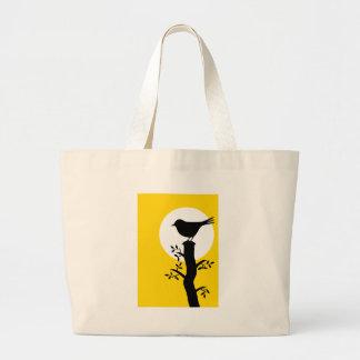Bird Large Tote Bag