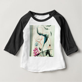 Bird Line and the Dancing Pen Baby T-Shirt