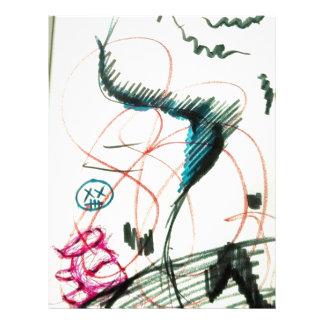 Bird Line and the Dancing Pen Letterhead