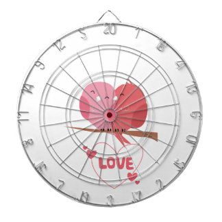 Bird Love Dartboard