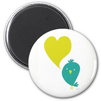 Bird Love Magnet